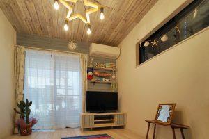 インダストリアルデザインを取り入れたヴィンテージ感のあるお家